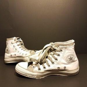 Converse Chuck Taylor All-Star White-Gray-Black